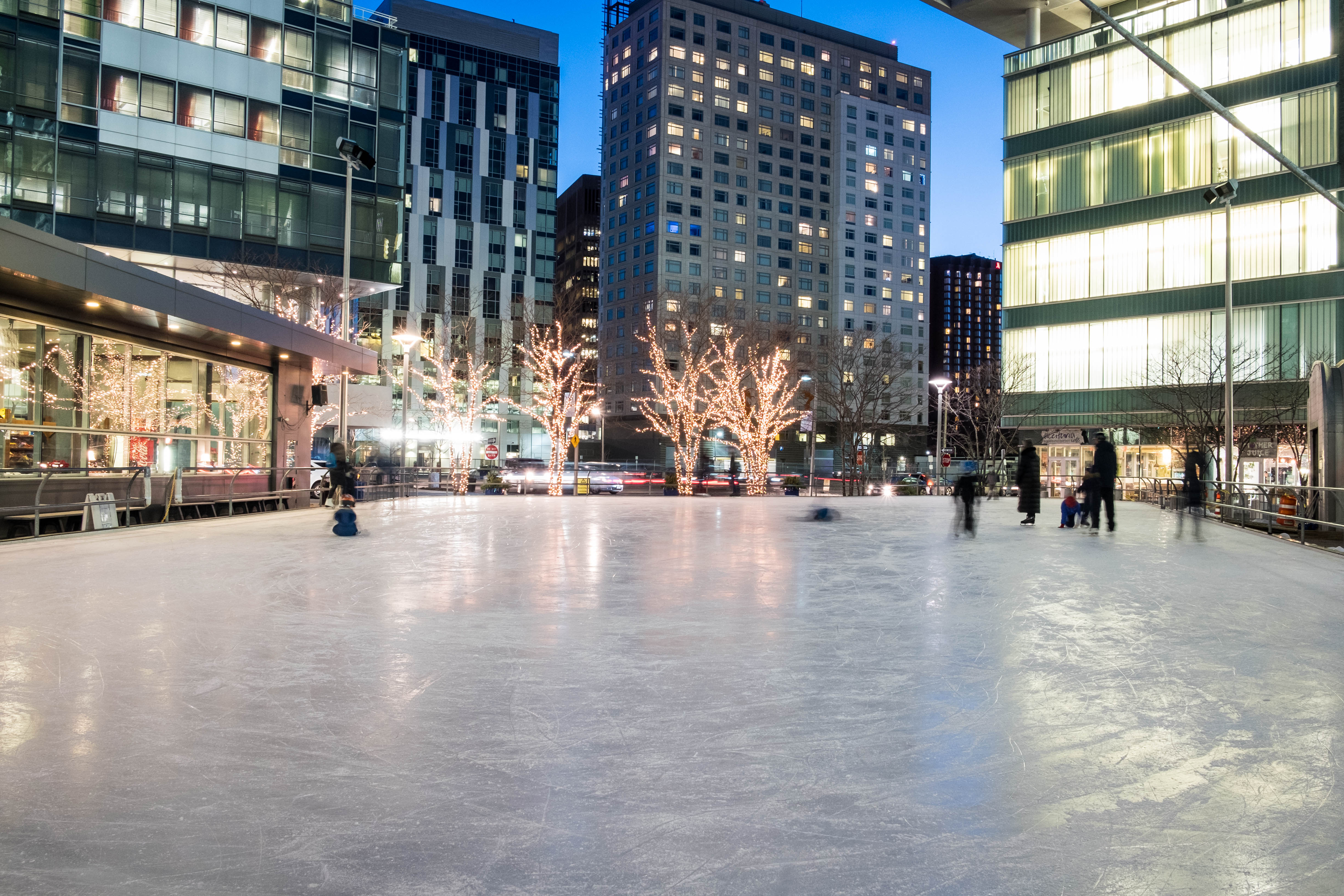 kendall square pavilion skating rink siena constructionsiena